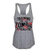 Training For The Zombie Apocalypse Women's Tank Top