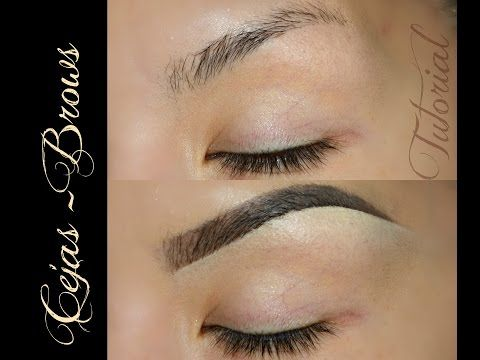 Tutorial de CEJAS Actualizado ( BROW TUTORIAL UPDATED) - YouTube