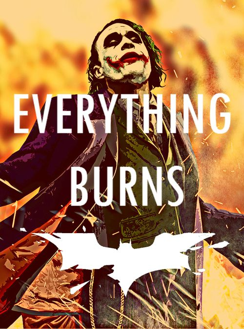 Everything burns