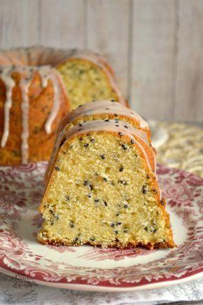 Bundt Cake de Naranja Sanguina y Sésamo Negro | CON HARINA EN MIS ZAPATOS
