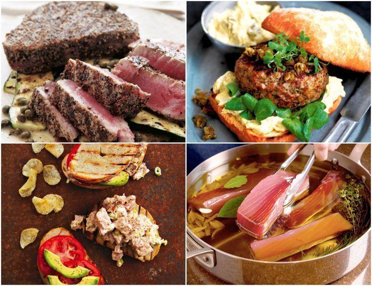 9 ideeën voor het diner vanavond: gezonde tonijnrecepten # avond #nacht … – #…
