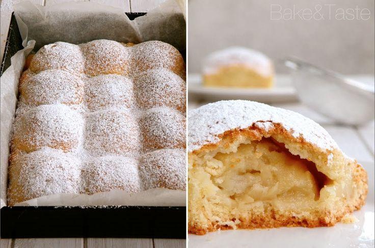 Bake&Taste: Jabłecznik serowy. Mój ulubiony, najlepszy