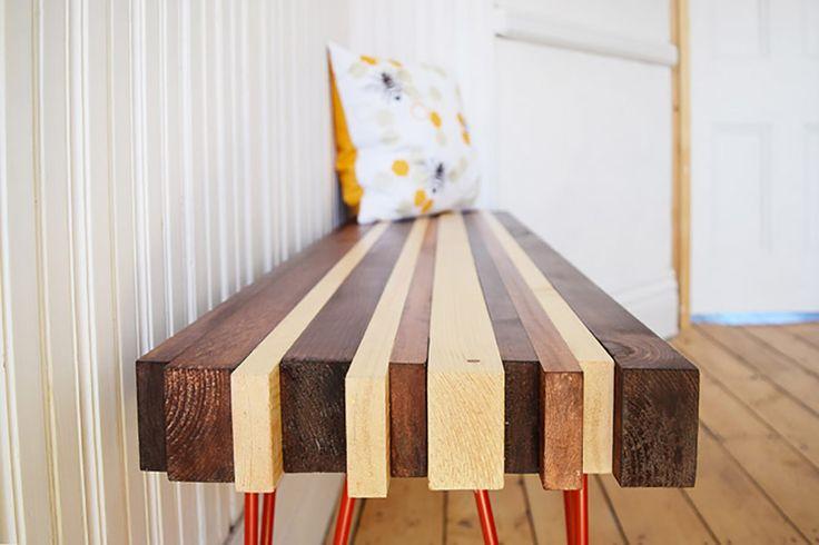 DIY Hallway Bench*