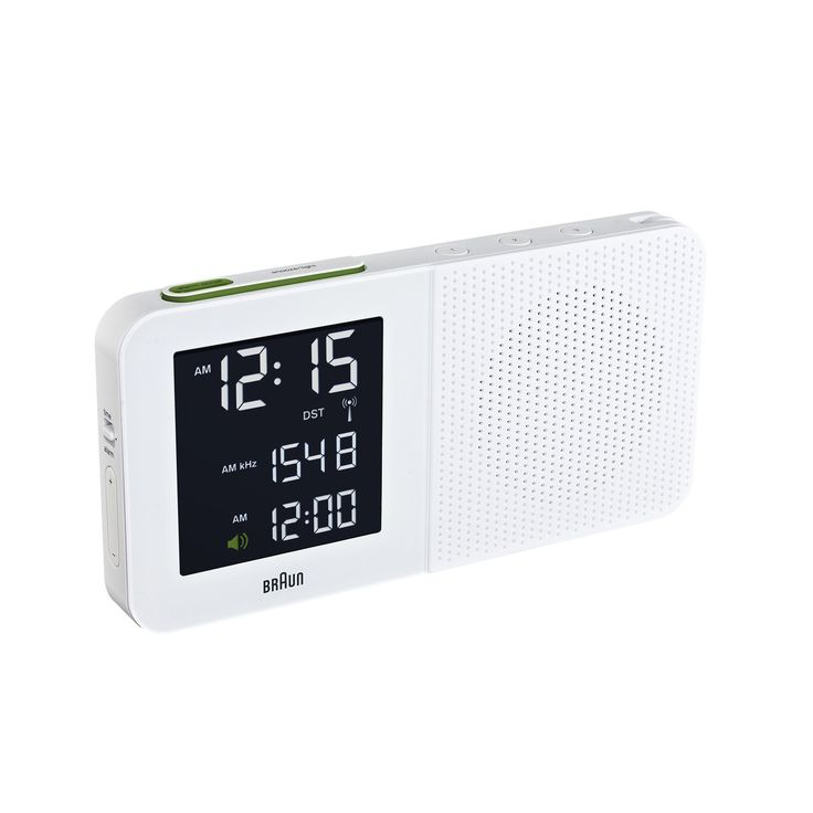 Braun - Digitaler Radiowecker BNC010, weiß Jetzt bestellen unter: https://moebel.ladendirekt.de/dekoration/uhren/wecker/?uid=a9130d79-dead-525f-84f4-2ee4f4b60e75&utm_source=pinterest&utm_medium=pin&utm_campaign=boards #braun #shop #design #uhren #funkwecker #wecker #dekoration #radio