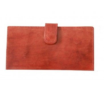 Pure Eye Catching Leather Clutch