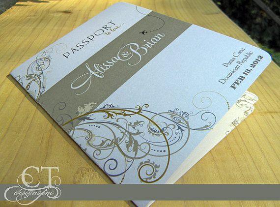 34 best Destination Wedding Invites images on Pinterest