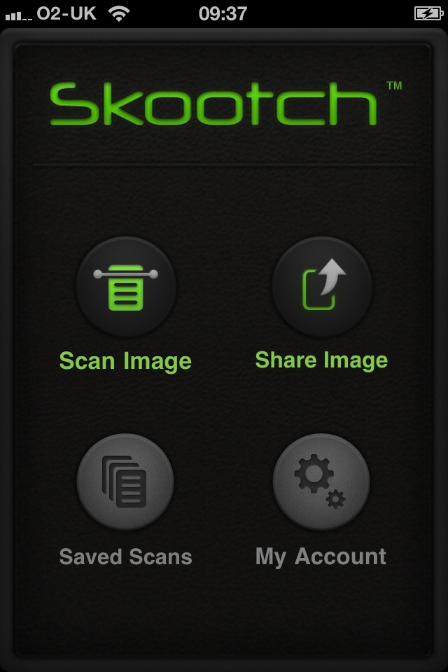 Skootch iPhone OCR App, Image to Text, Student App - Mutant Software's Skootch Best iPhone OCR App Converts Image to Text and iPhone Scanner. Great Student App.