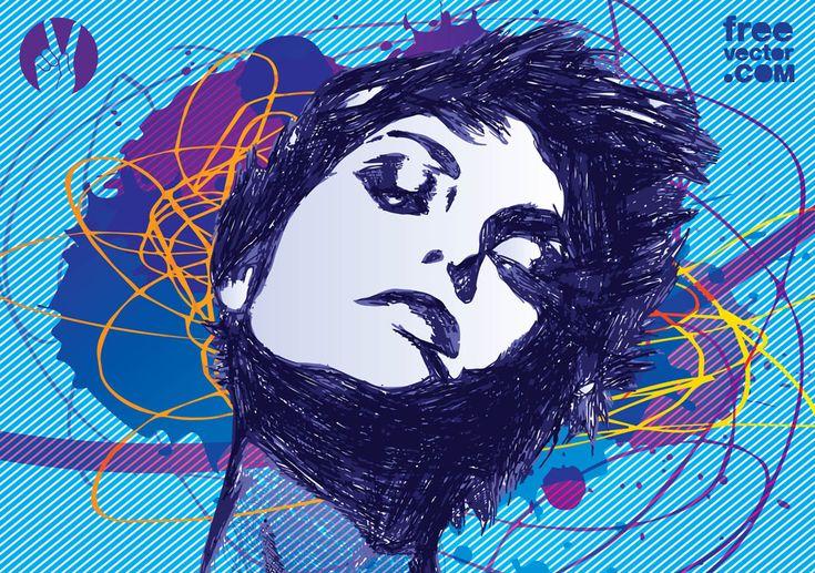 FreeVector-Girl-Illustration.jpg 1024×720 pixels