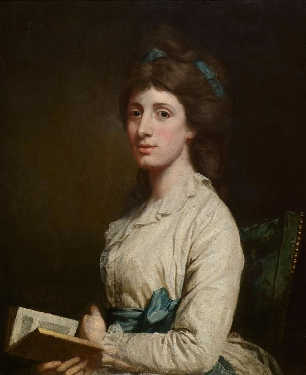 Portrait of the actress Sarah Siddons, 1782, by Thomas Beach