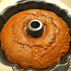 Figgy Pudding in Bundt Pan