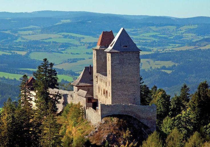 Czech republic - Kašperské Hory and Kašperk Castle