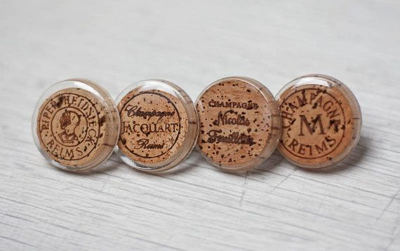 Champagne Cork Cocktail Ring Upcycled Wine French by daimblond, €14.00