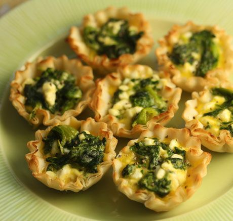 Phyllo Cup Appetizers Cream Cheese Appetizer Recipes