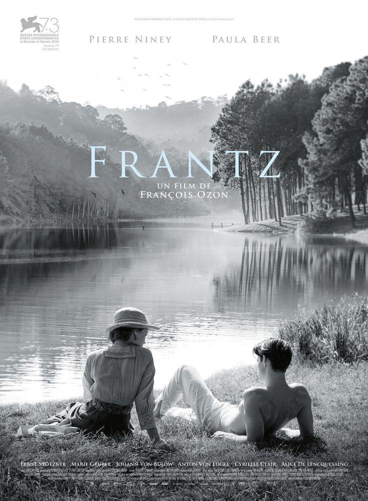 """""""Frantz"""" de François Ozon (2016) avec Paula Beer,Pierre Niney, Ernst Stotzer.Un chef-d'oeuvre à mon sens par sa beauté formelle et sa justesse dans la description du""""chagrin des vivants""""pour reprendre le titre du très beau roman d'Anna Hope."""