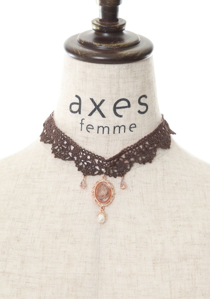 axes femme online shop|カメオレースチョーカー