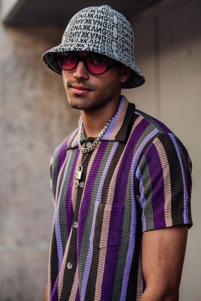 Street style à la Fashion Week homme printemps été 2019 à