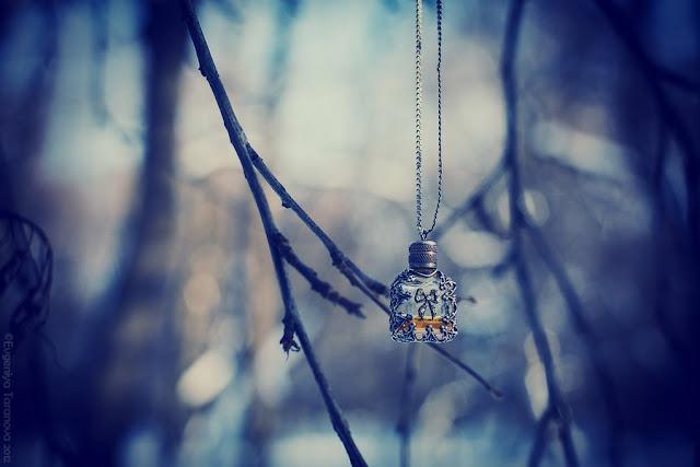 """Украшаем все вокруг! - Фотоэксперимент """"Когда уходит любовь.."""" #jewelry, #grey, #blue, #winter"""