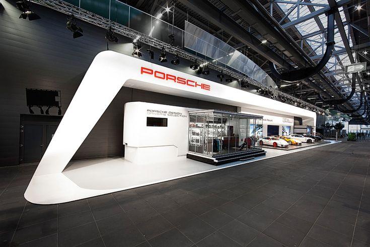 D Exhibition Stand : Porsche h stand by heller design exhibition stands