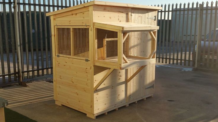 Amazing bespoke guinea pig shed perfect for your little guinea pigs features a ramp leading upto a balcony. handmade in the uk to order By Boyles Pet Housing.