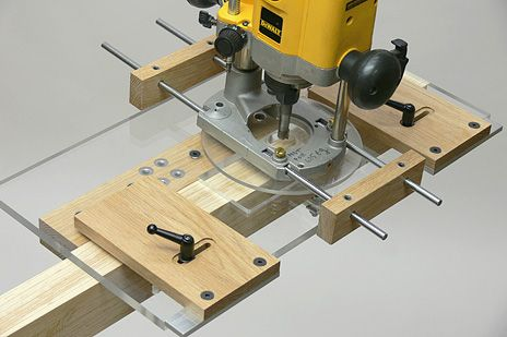 Free Router Tenon Jig Plans - WoodWorking Projects & Plans