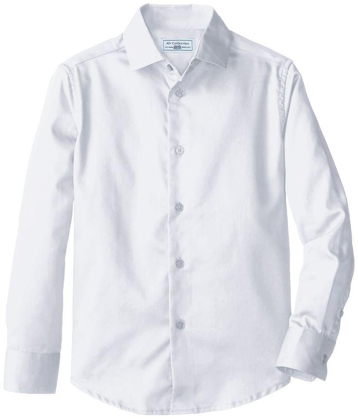 Port Authority Shirts: S606 WHT Mens Classic White Long Sleeve Shirt