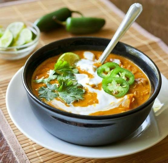 RED LENTIL AND COCONUT CURRY SOUP | Soups and Salads | Pinterest