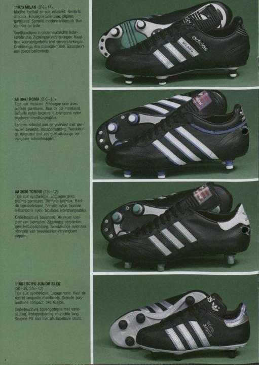 Adidas 1987 Catalogue Page