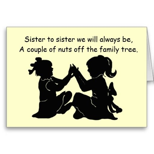 Best 20 Birthday cards for sister ideas – Funny Sister Birthday Cards