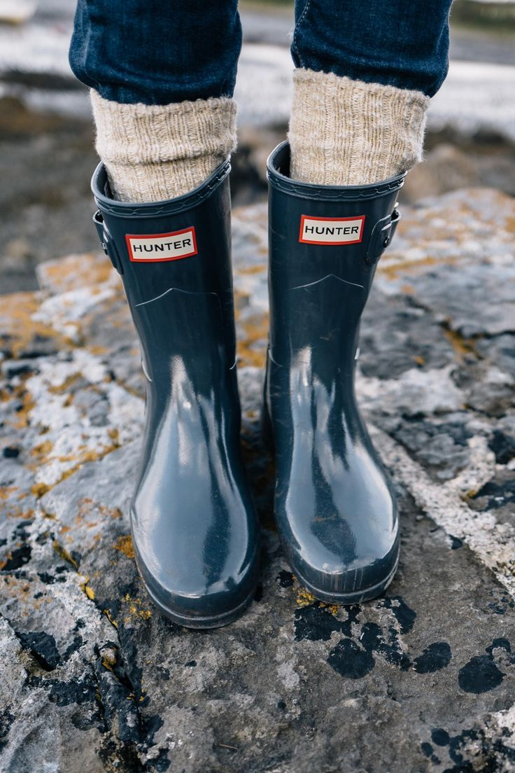 Hunter Boots #fallstyle