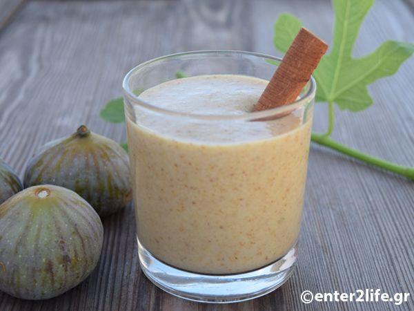 Ρόφημα με μαύρα σύκα, γάλα κεφίρ, κανέλα και πιπερόριζα http://www.enter2life.gr/25306-rofima-me-maura-syka-gala-kefir-kanela-kai-piperoriza.html