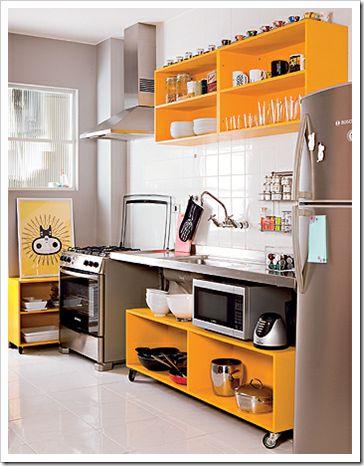 Cozinha moderna e prática #gostomuito