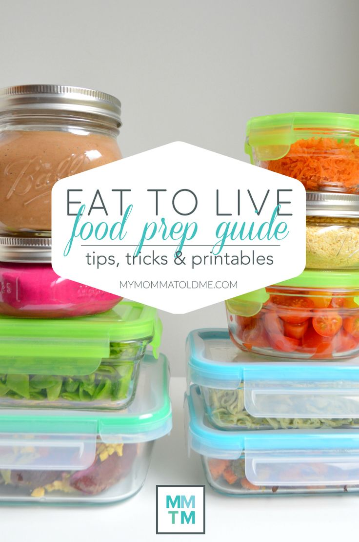 Eat to Live Food Prep Guide Dr Fuhrman 6 Week Plan Nutritarian Program Clean Eating No Oil recipe Vegan food prep