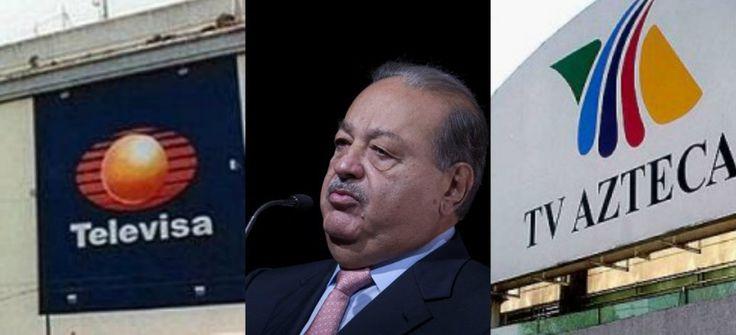 ¡EN PICADA! Revelan TODO sobre el golpe millonario de Slim hacia Televisa y Tv Azteca ¡SIN CENSURA!
