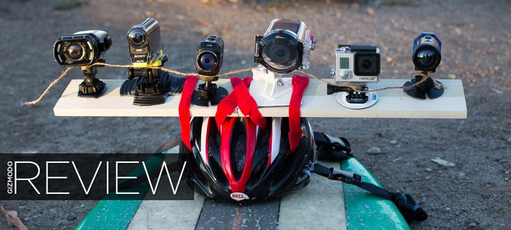 You can't just do something dangerous and insane these days without filming it for posterity. And while action cameras let us relieve these life-highlights over and over, they aren't all created equal. We decided to see for ourselves which one could handle your extreme adventures best.
