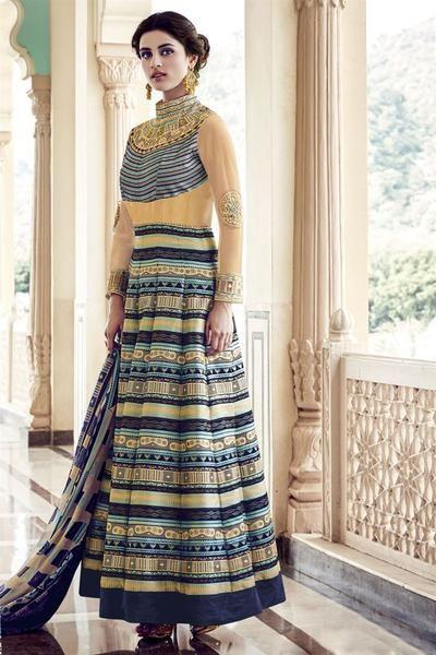Designer & Bollywood style Anarkali directly from ladyindia.com