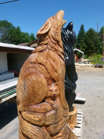 Curated chainsaw carvings ideas by ellymaydog horse