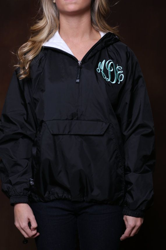 Hey, I found this really awesome Etsy listing at https://www.etsy.com/listing/177223534/monogrammed-rain-jacket-personalized