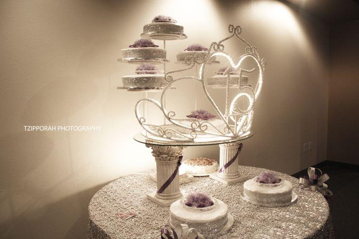 Tiara Cake Stand Square Colors