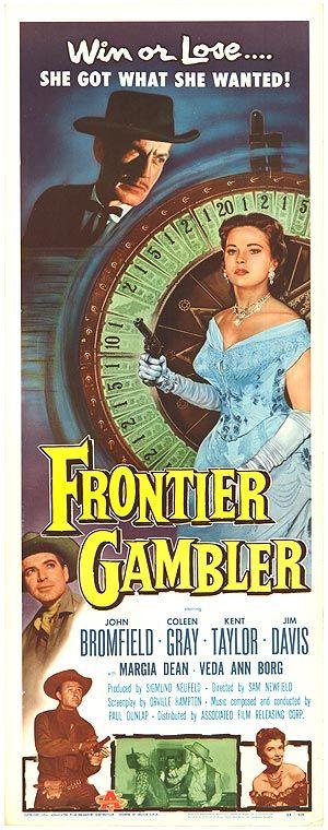 gamblers movie   FRONTIER GAMBLER POSTER ]