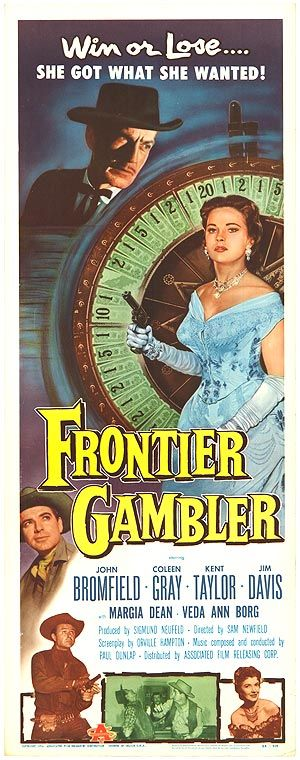 gamblers movie | FRONTIER GAMBLER POSTER ]
