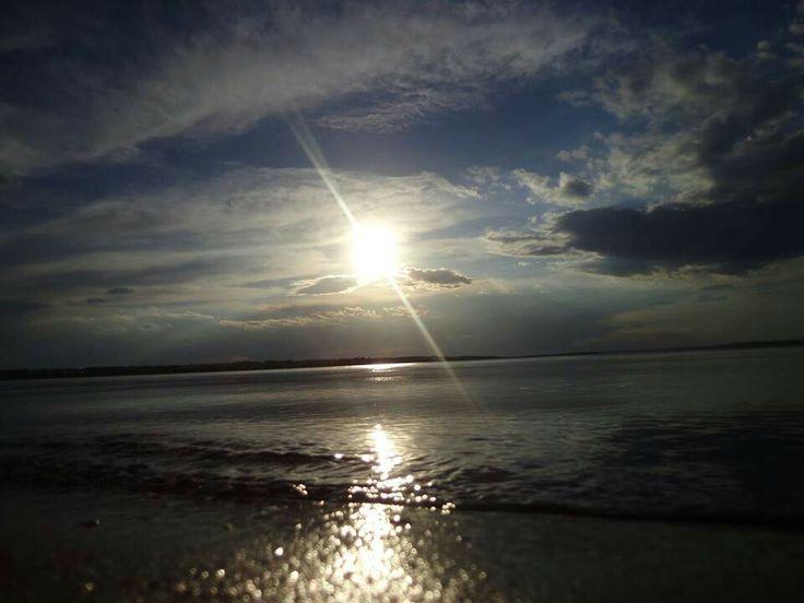 """""""The Sun Lake"""". Took this in Sylvan Lake, Alberta."""