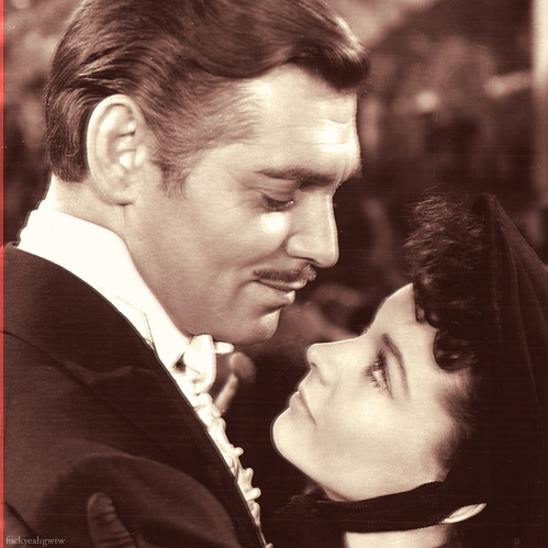 Gone With The Wind, Clark Gable and Vivian Leigh