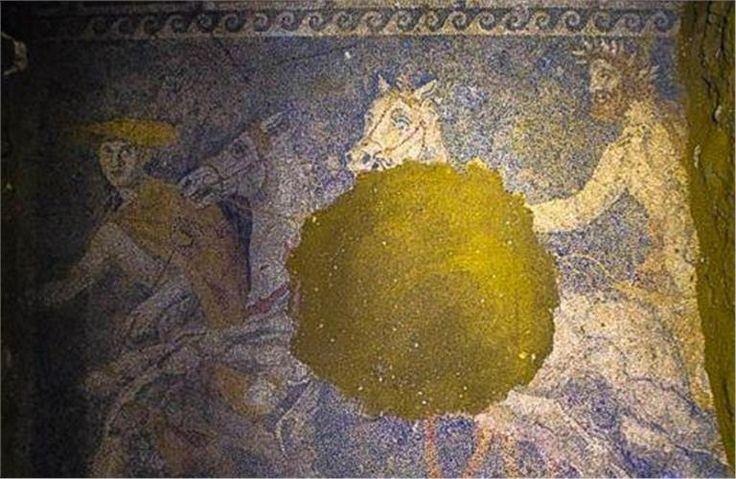 Αμφίπολη: Ο νεκρός και το αίνιγμα του νέου ψηφιδωτού - Πολιτισμός - Επικαιρότητα - Τα Νέα Οnline