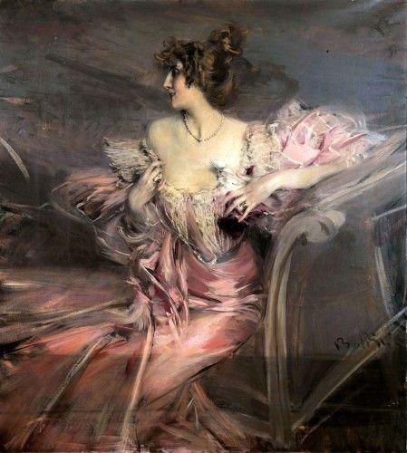 Giovanni Boldini - Portrait of the Actress Marthe de Florian, 1898. (¡Mira esto! ¡Abandonó su casa en 1939 y cuando abrieron la puerta, nos quedamos boquiabiertos! - Para Los Curiosos)