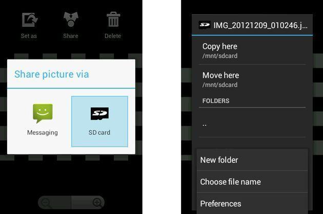 Guarda las fotos de la aplicación de Facebook para Android en tu SD