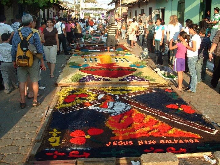48 best art of nicaragua images on pinterest granada grenada and sand drawings on the streets during semana santa in nicaragua semana santa holy week publicscrutiny Choice Image