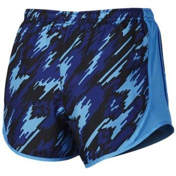 textil Niño Shorts / Bermudas Nike Pantalones  Dry Tempo Short Aop Lt Photo Blue / Lt Photo Blue / White