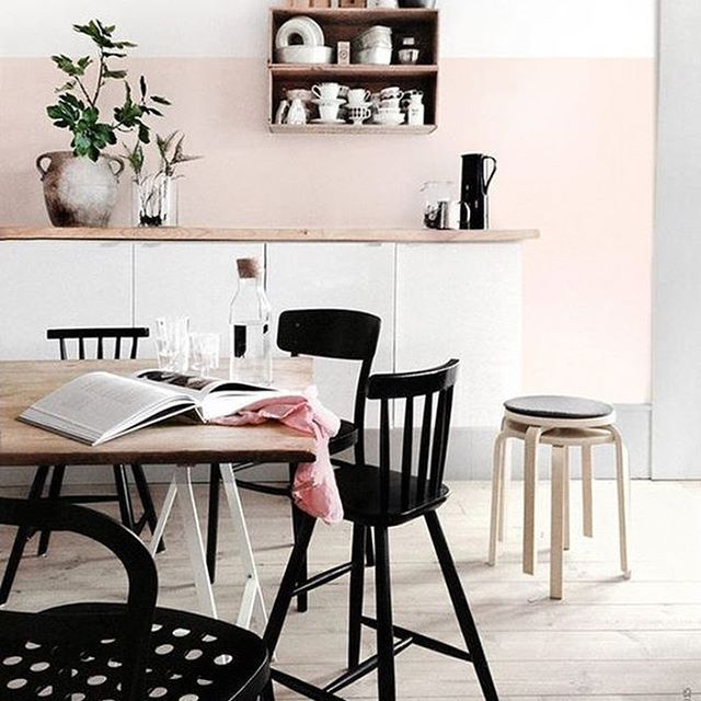 1000 ideas about chaise noire on pinterest chaises - Chaises salle a manger ikea ...
