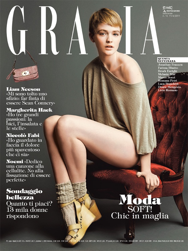 Grazia 15 Del 2011 Love Hair Pinterest