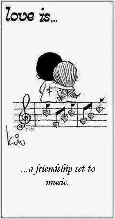 Rakkautta on ystävyys musiikissa Ultsi <3